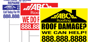 Yard Signs Work For Marketing Roofing—When Done Right!